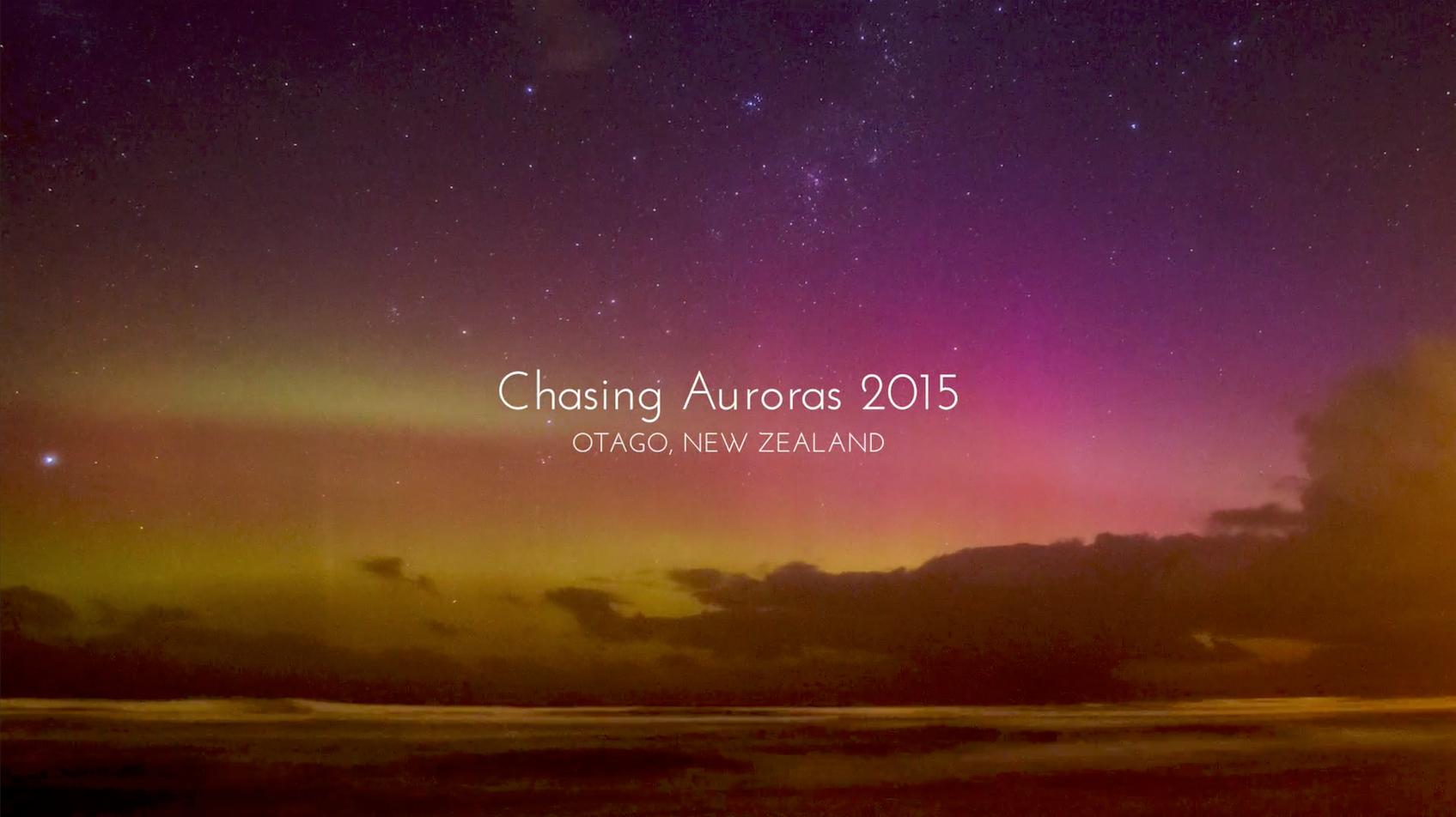 Chasing Auroras 2015